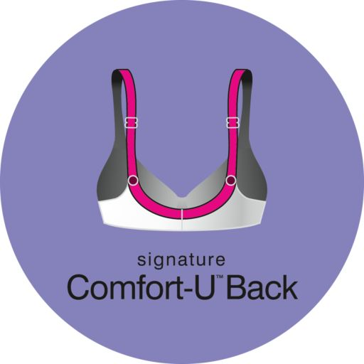 Bali Bra: Double Support Comfort-U Wire-Free Minimizer Bra 3335