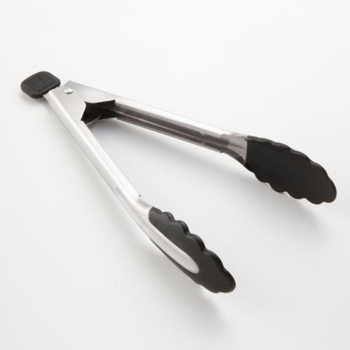 Bobby Flay™ Soft Grip 9-in. Locking Tongs