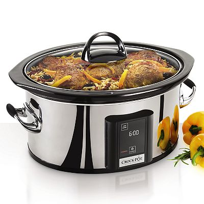 Crock-Pot 6 1/2-qt. Programmable Touchscreen Slow Cooker