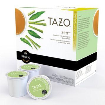 Keurig® K-Cup® Pod Starbucks Tazo Zen Green Tea Blend - 16-pk.