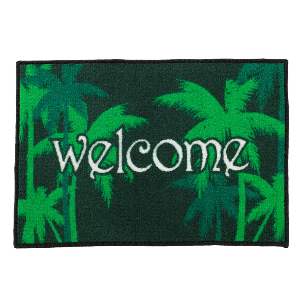 """FANMATS """"Welcome"""" Rug"""