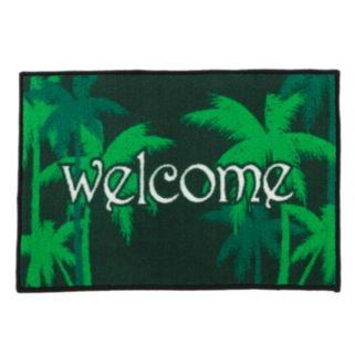 FANMATS Welcome Rug