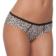 Candie's Animal Lace-Trim Hipster