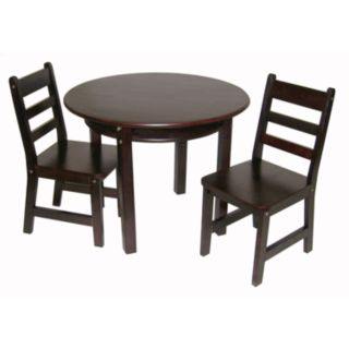 Lipper Children's Round Table and Chairs Set