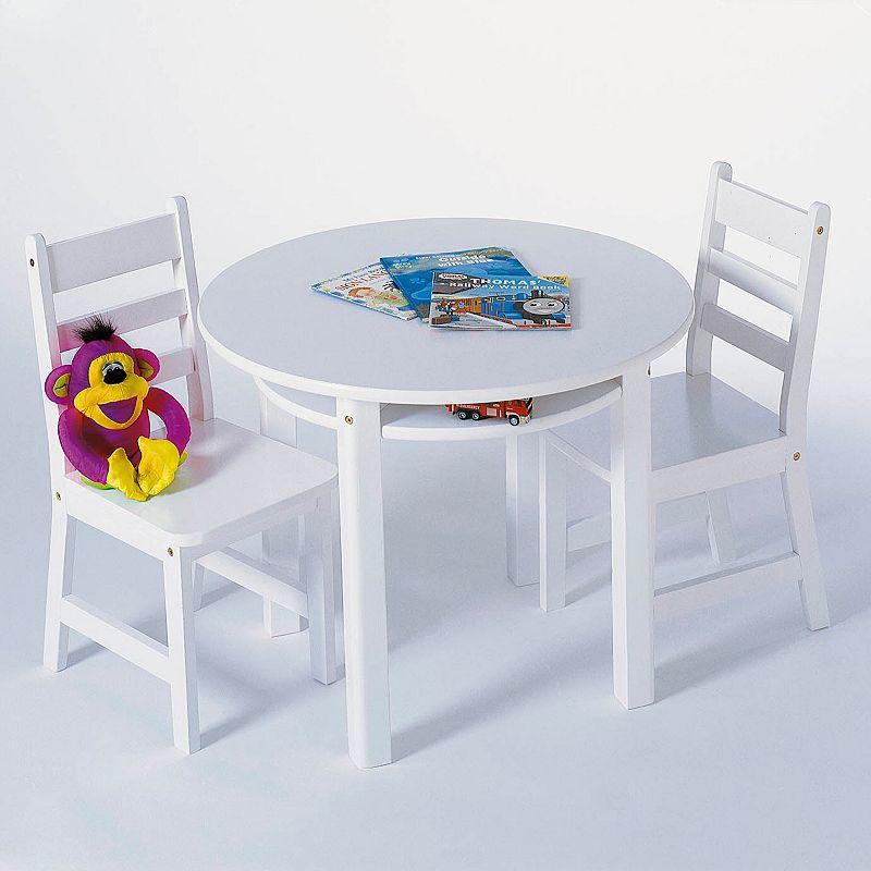 Kids White Chair Set Kohls