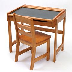 Lipper Children's Chalkboard Desk & Chair Set