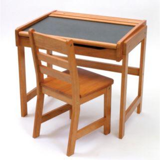 Lipper Children's Chalkboard Desk and Chair Set