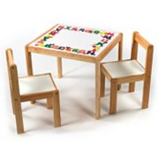 Lipper Children's ABC Table and Chairs Set