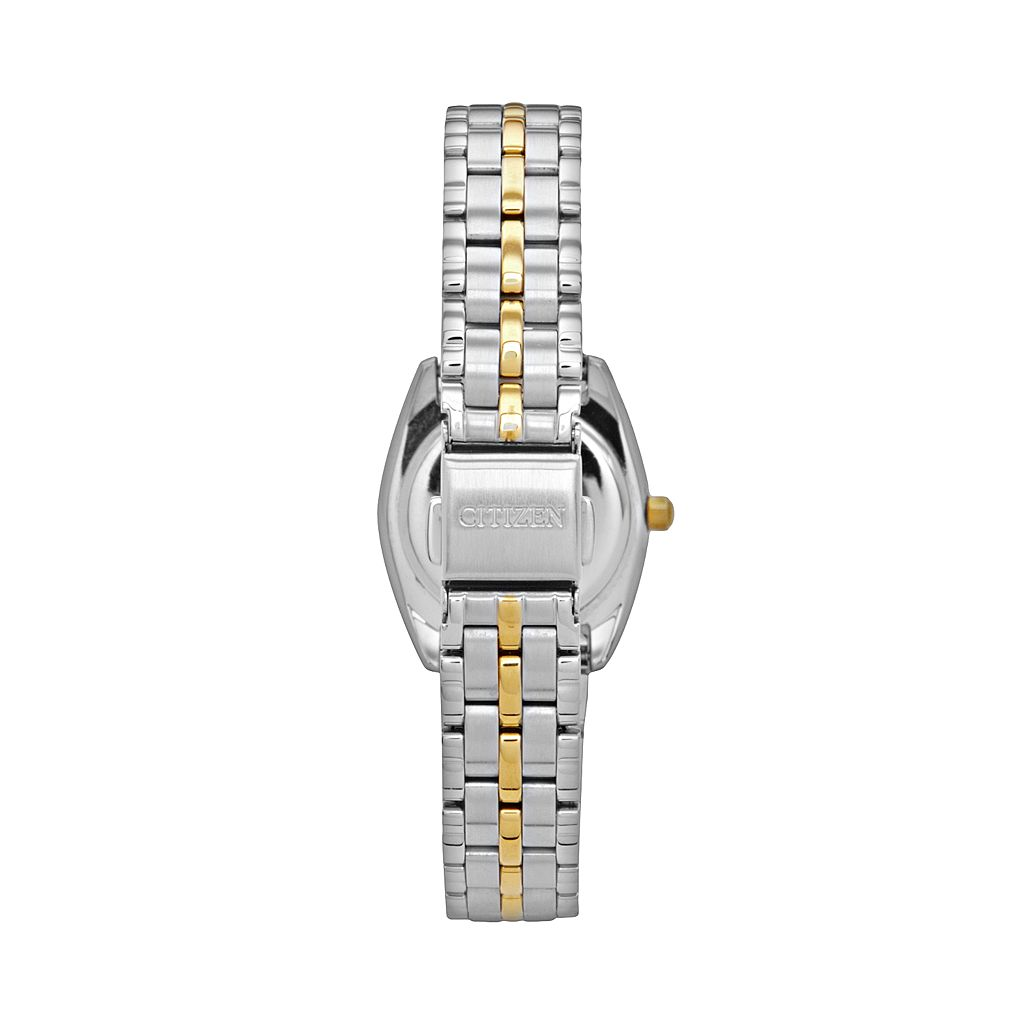 Citizen Eco-Drive Women's Paliadion Diamond Two Tone Stainless Steel Watch - EW1594-55D
