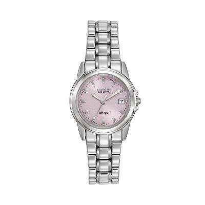 Citizen Eco-Drive Silhouette Stainless Steel Watch - EW1620-57X - Women