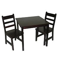 Lipper Children's Square Table & Chairs Set