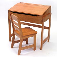 Lipper Children's Slanted Desk & Chair Set