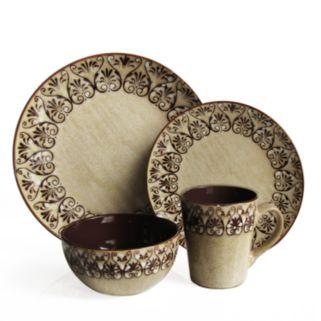 American Atelier Mehndi 16-pc. Dinnerware Set
