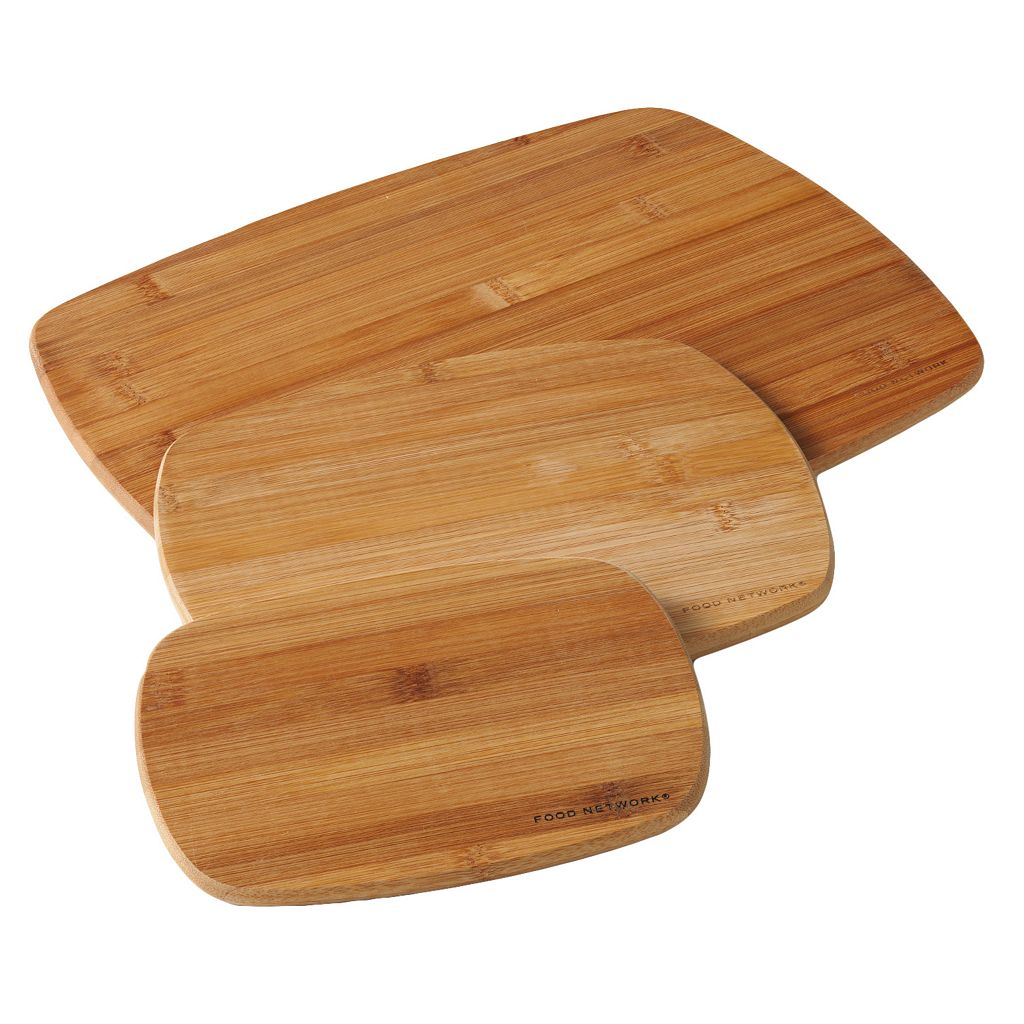 Food Network™ CookingGreen™ 3-pc. Bamboo Cutting Board Set