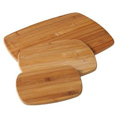 Food Network™ 3 pc Bamboo Cutting Board Set