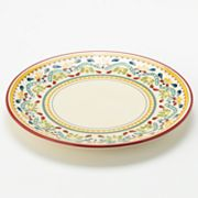 Bobby Flay Home Sevilla Red Dinner Plate