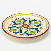 Bobby Flay Home Sevilla Red Salad Plate