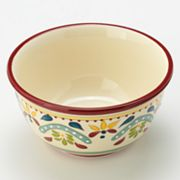 Bobby Flay Home Sevilla Red Cereal Bowl