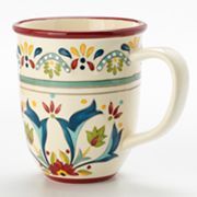 Bobby Flay Home Sevilla Red Mug
