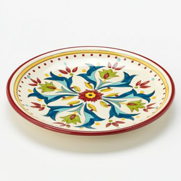 Bobby Flay™ Home Sevilla Red Canape Plate