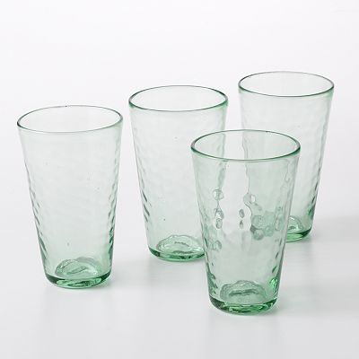 Bobby Flay Acqua 4-pc. Highball Glass Set