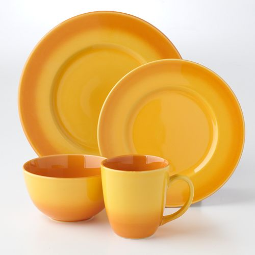 Bobby Flay Ombre Orange 16-Pc. Dinnerware Set $ 69.99