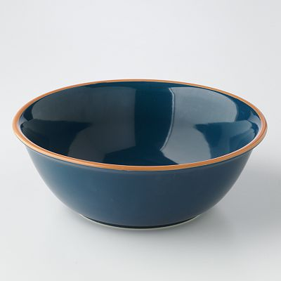 Bobby Flay Blue Serving Bowl