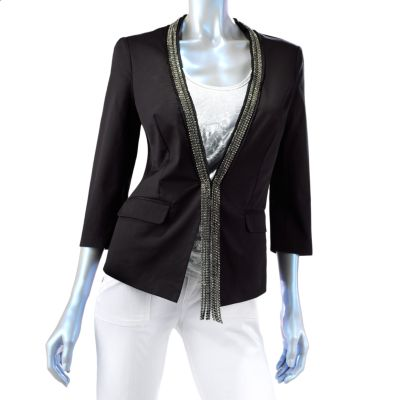 Rock and Republic Embellished Twill Blazer