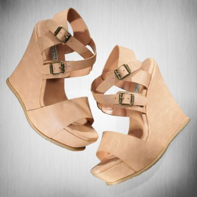 Simply Vera Vera Wang Platform Wedge Sandals