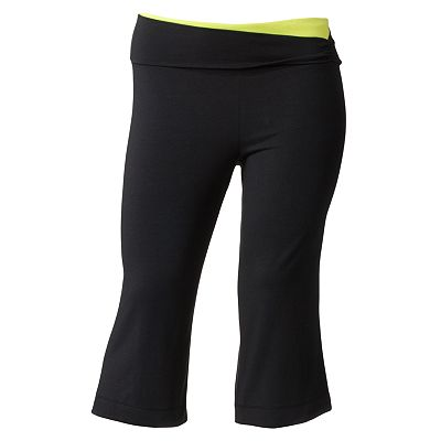 SO Cinch Side Yoga Capris - Juniors' Plus