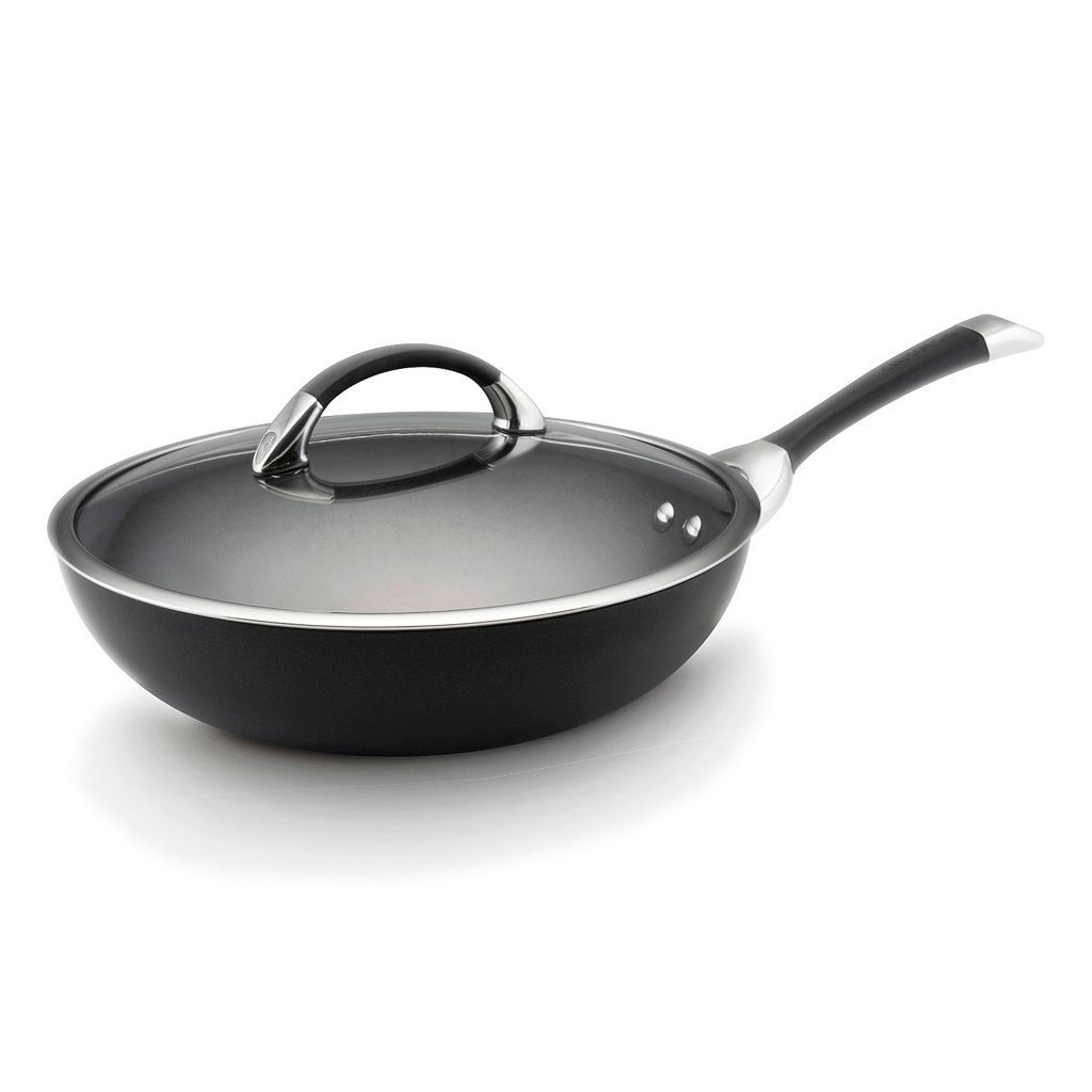Circulon 12-in. Nonstick Covered Stir-Fry Pan