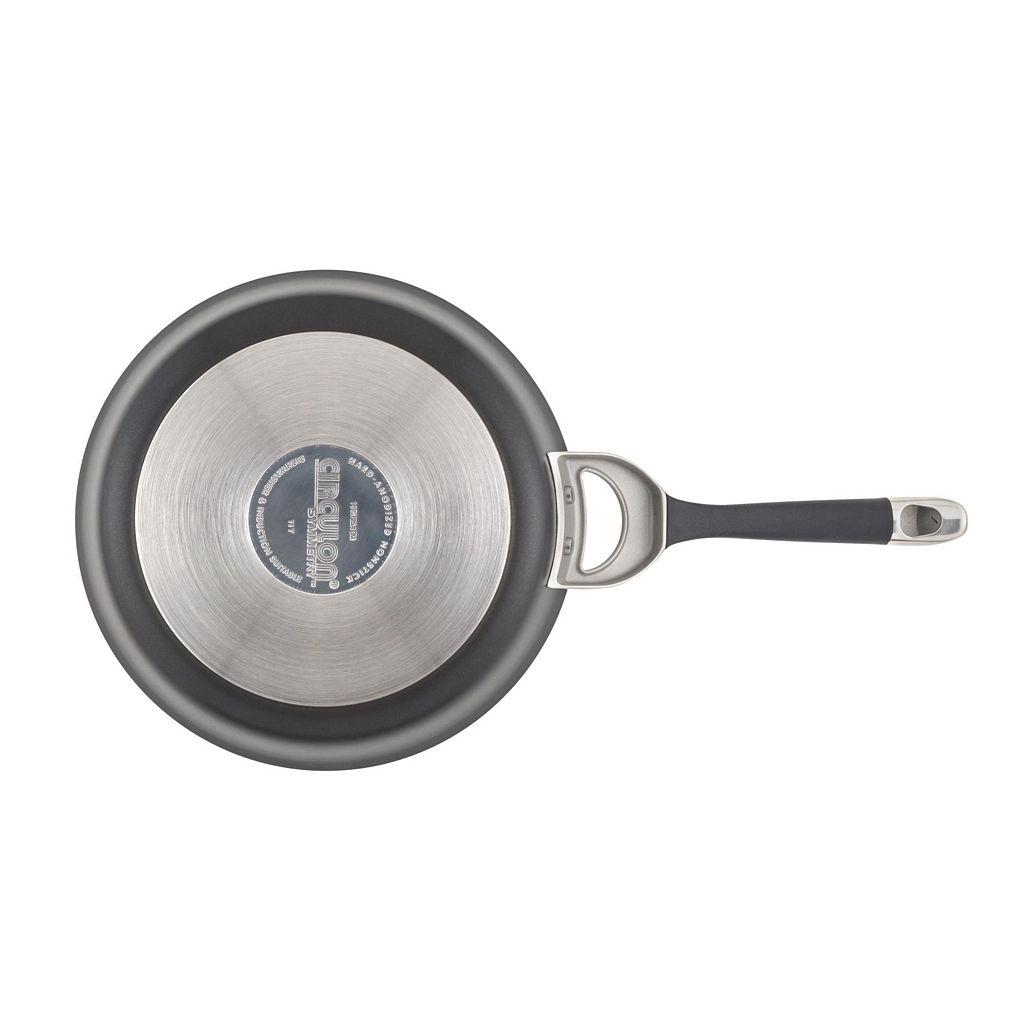 Circulon Symmetry 12-in. Nonstick Covered Stir-Fry Pan