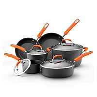 Rachael Ray 10-pc. Nonstick Hard-Anodized Cookware Set