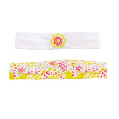 Carter's 2-pk. Floral and Solid Headband Wraps - Baby