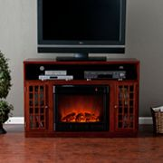 Manheim Media Console Electric Fireplace