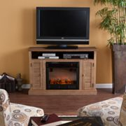 Tara Media Console Electric Fireplace