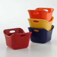 Rachael Ray 4-pc. Square Ramekin Set