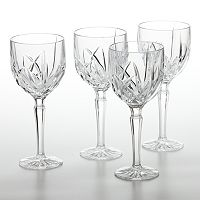 Marquis by Waterford Brookside 4 pc All Purpose Wine Glass Set