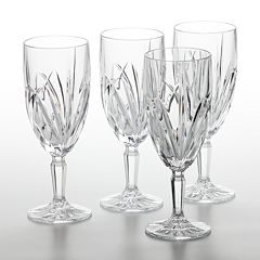 Marquis by Waterford Brookside 4 pc Iced Beverage Glass Set