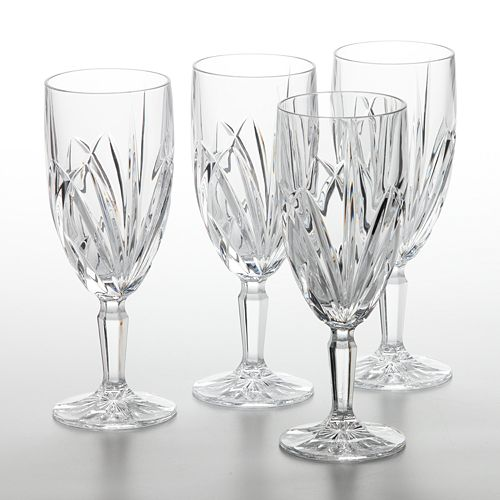 Marquis by Waterford Brookside 4-pc. Iced Beverage Glass Set