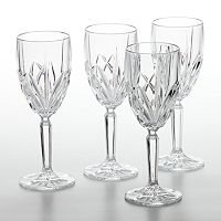 Marquis by Waterford Brookside 4 pc White Wine Glass Set