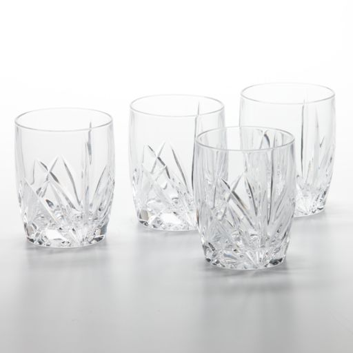 Marquis by Waterford Brookside 4-pc. Double Old-Fashioned Glass Set