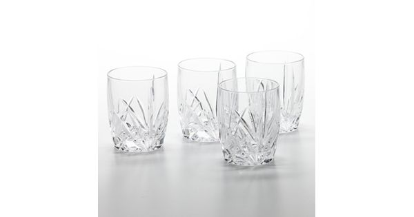 Marquis By Waterford Brookside 4 Pc Double Old Fashioned
