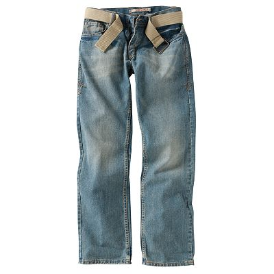 Modern Culture Slim Straight Denim Jeans