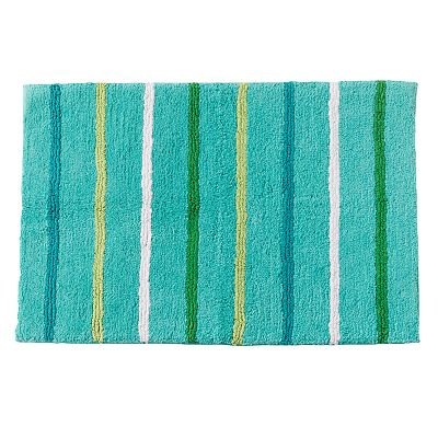 Jumping Beans Froggy Fun Striped Bath Rug