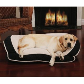 Dog Lounge Deep-Seated Rectangle Pet Bed - 40'' x 25''