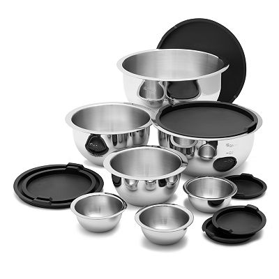 Wolfgang Puck 14-pc. Mixing Bowl Set