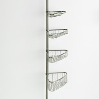 interDesign 5-pc. Shower and Bath Tension Pole Caddy Set