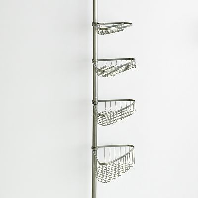 interDesign Shower and Bath Tension Pole Caddy