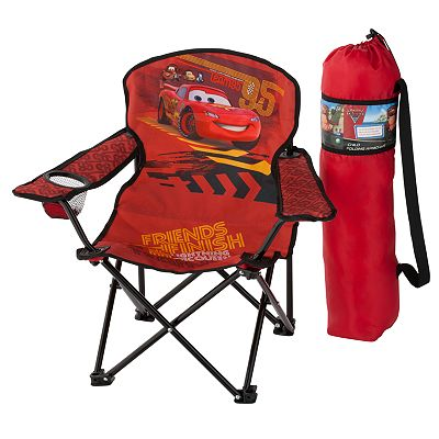 Disney/Pixar Cars 2 Team Lightning McQueen Folding Chair